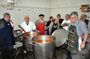 Los cocineros de la fabada.