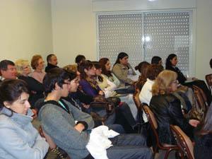 Público asistente a las charlas.