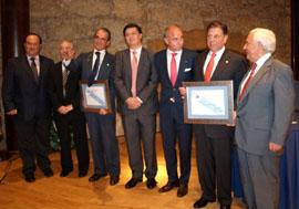 Jorge Menéndez, Manuel Fernández Quevedo, Mario Conde, José Manuel Rivero, Santiago Camba, Alfredo Canteli y José Luis Baltar.