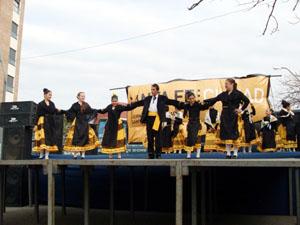 Actuación del grupo del Centro Extremeño.