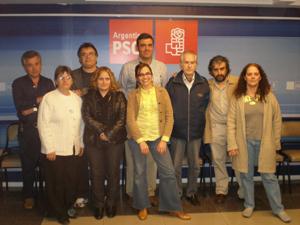 El responsable del PSOE Exterior se reunió con la ejecutiva del partido en Argentina.