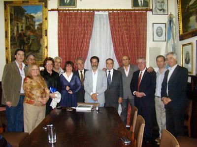 El vicepresidente de la Colonia Leonesa en Cuba fue recibido en un clima de cariño y camaradería.