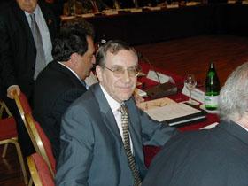 El presidente del CGCEE, Francisco Ruiz.