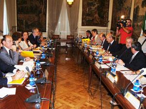 Reunión de la Comisión Bilateral de Cooperación Junta-Estado celebrada en Madrid.