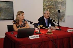 Montserrat Mera Fernández y José Ramón Ónega.