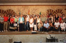 Foto de familia de los participantes en el curso.