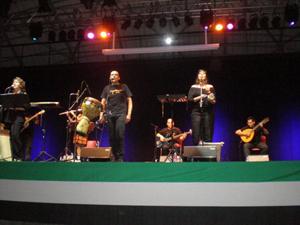 Uno de los conciertos que se celebraron.