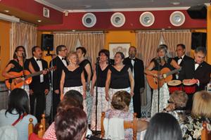 El grupo musical 'Zarcillo'.