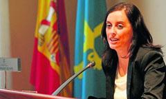 La consejera de Bienestar Social, Paloma Menéndez Prado.