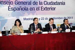 Intervención del ministro Valeriano Gómez ante el 5º pleno del 5º mandato del CGCEE.