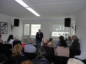 El presidente de la Coordinadora Federal, José Povedano, explicó los objetivos del Centro.