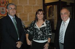 Daniel Samaniego, Estarellas y Héctor Marano.