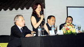 Pilar Pin inauguró el 6º Congreso de Jóvenes en San Miguel de Tucumán.