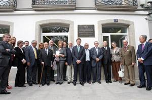 Feijóo en la inauguración de la Casa Museo de Manuel Fraga en Vilalba.