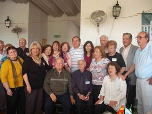Socios fundadores y miembros de la actual comisión directiva.