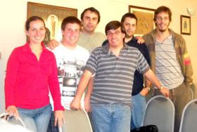 Integrantes del grupo 'Alianza de Jóvenes'.