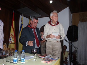 Alfredo Lesiñena Atarés recibió el reconocimiento Huella Aragonesa.