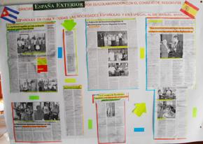 Panel dedicado a España Exterior.