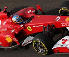 Alonso en el Gran Premio de Corea.