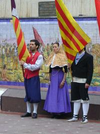 Los representantes del Grup Sa Potada.