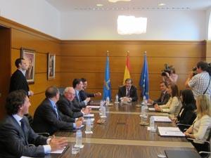 Reunión del consejo de Gobierno del Principado.