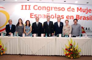 Inauguración del Congreso de Mujeres en Sorocaba.