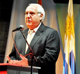 Intervención del presidente de la entidad, Manuel Ramos.