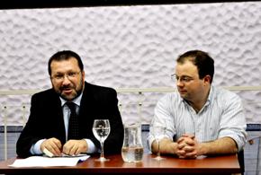 Ernesto Kreimerman y Manuel Vázquez.