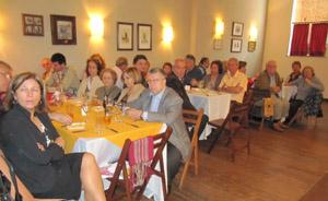 Numerosos socios asistieron a la celebración.