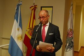 Santiago Camba en una de sus últimas visitas a Buenos Aires.