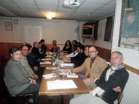 La reunión se celebró en la Sociedade Sementeira de Basilea.