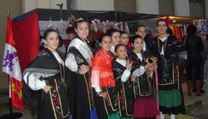 El grupo de baile de la entidad castellana y leonesa.