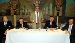 Pedro Bello instó a los directivos a comprometerse con la realización del evento.