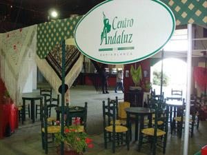 El stand en la Feria de Colectividades.