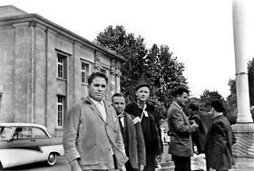 Emigrantes españoles en Alemania en los años 60 del pasado siglo.