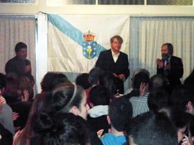 Conferencia de Manuel Rivas.