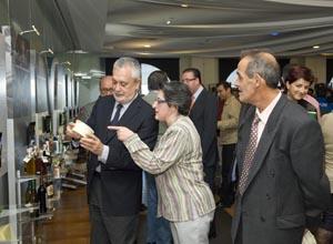 El presidente Griñán en las jornadas de Aracena.