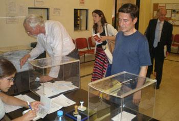 La jornada de voto se desarrolló con total normalidad en Buenos Aires.
