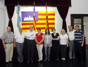 Representantes de las Casas participantes en la Mesa Coordinadora.