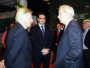 Danilo Astori, Diego Calvo y Álvaro Marchesi.