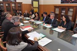 Reunión de la Comisión Mixta entre la Xunta y el TSXG.