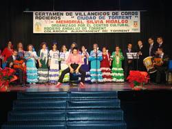 Una de las actuaciones del certamen.