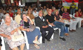 José García y Sergio Toledo presidieron las celebraciones por el Centenario.