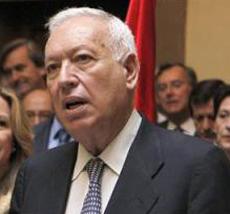 El ministro de Asuntos Exteriores, José Manuel García-Margallo.