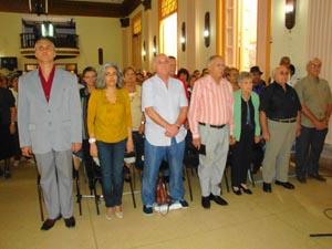 Raul Parrado, Lourdes Díaz, Alfonso García, Sergio Rabanillo,Antonio Fidalgo y Julio Santamarina.