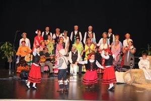 El coro 'Brisa del Sur'.