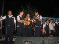 Una de las actuaciones.