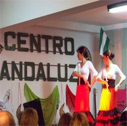 Una actuación de baile en la gala artística.
