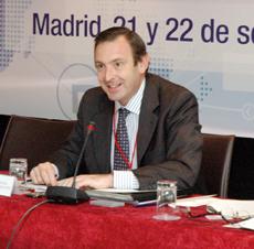 Luis Fernández-Cid en el último pleno del CGCEE.