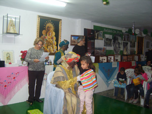 Los Reyes Magos llevaron regalos para todos.